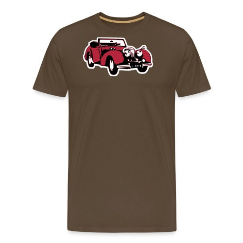 Triumph Roadster Oldtimer (mit HG) - Männer Premium T-Shirt