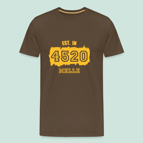 4520 Melle - Established - Männer Premium T-Shirt