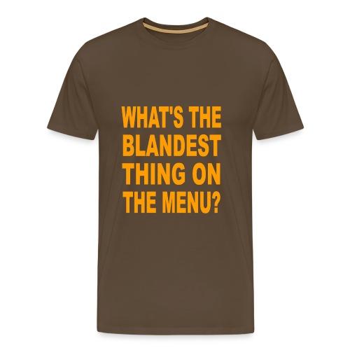 menu - Men's Premium T-Shirt