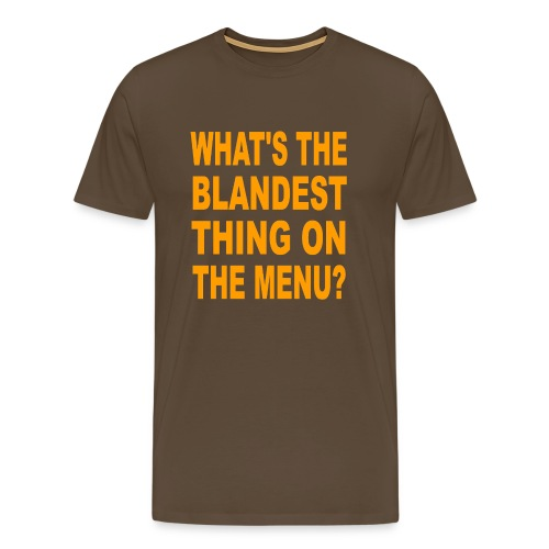 menu - Men's Premium T-Shirt