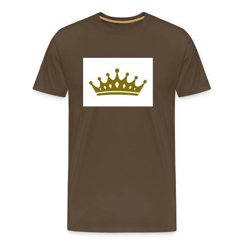 Kongen - Premium T-skjorte for menn