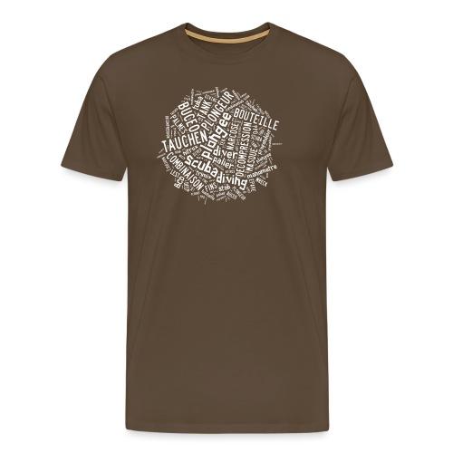 roundtagwhite - T-shirt Premium Homme