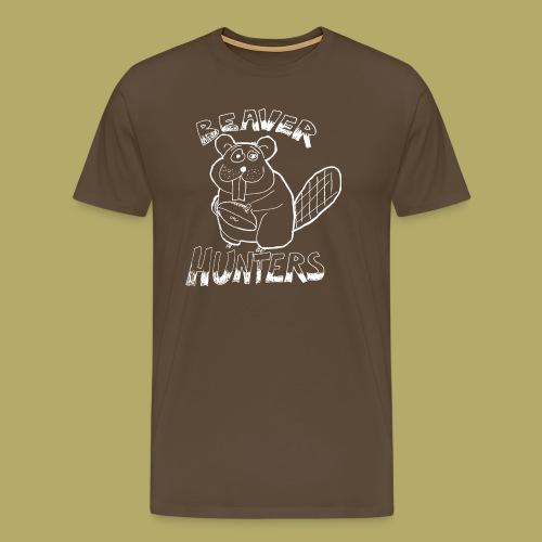 Beaver Hunters - Miesten premium t-paita