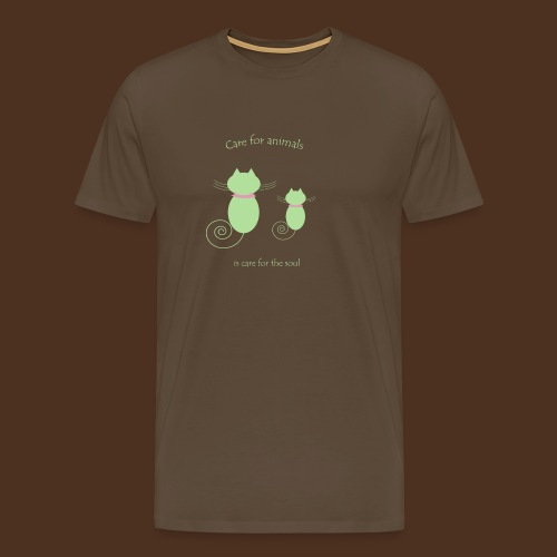 Animal care - Men's Premium T-Shirt