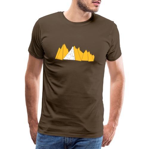 T-Shirt Mountains - Männer Premium T-Shirt