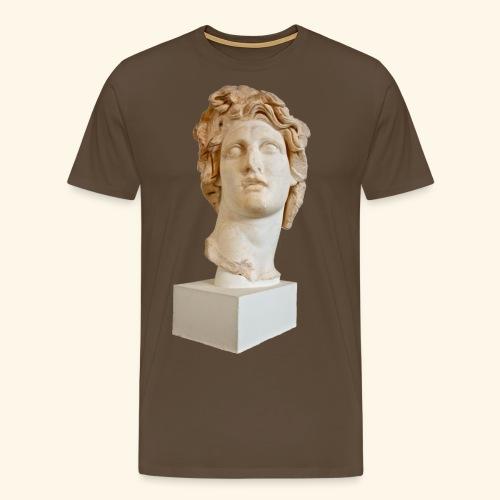Roman Statue MACINTOSH PLUS - リサフランク420 / 現代のコンピュー - T-shirt Premium Homme