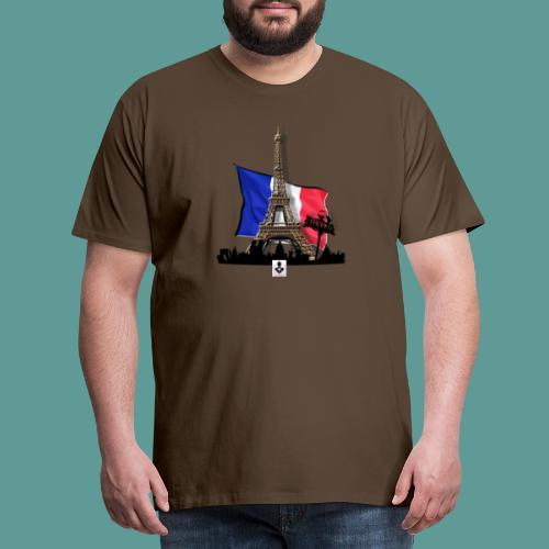 Tee shirt marque mutagene PARIS - T-shirt Premium Homme