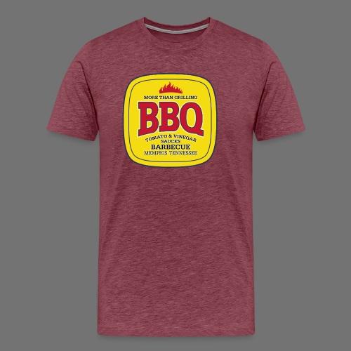 BBQ Grilli - Miesten premium t-paita
