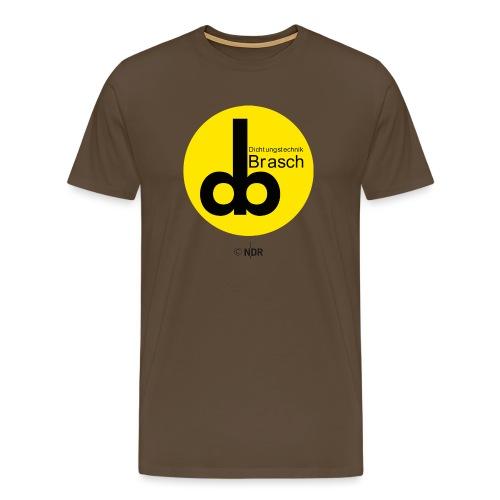 Barsch Regenschirm - Männer Premium T-Shirt