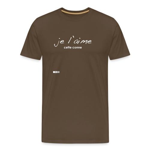 je l'aime cette conne - T-shirt Premium Homme