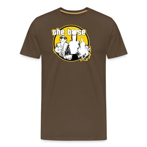 theboese logo gelb - Männer Premium T-Shirt