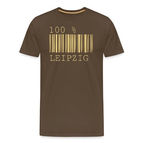 100 % Leipzig - Männer Premium T-Shirt
