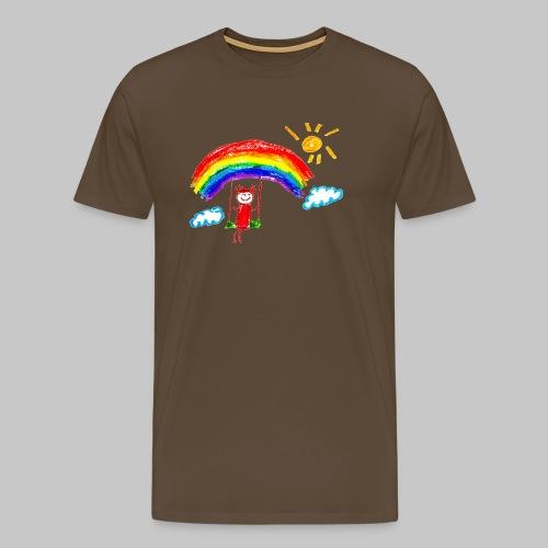 Gentil design simple - T-shirt Premium Homme
