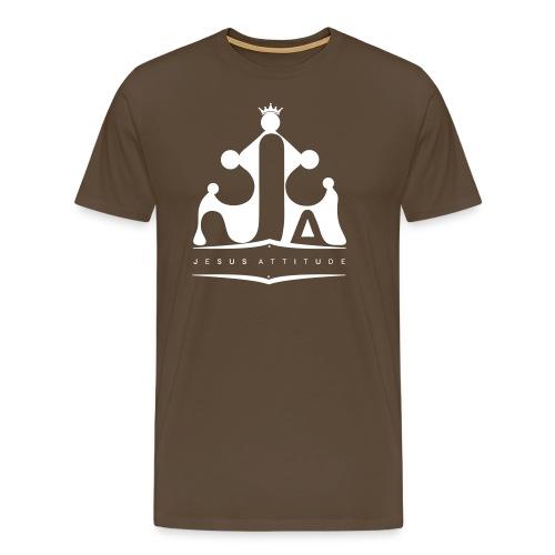 Logo Jesus Attitude - T-shirt Premium Homme