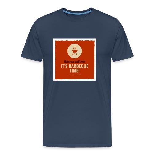 Solo una cosa può farti tornare dall'orto... - Maglietta Premium da uomo