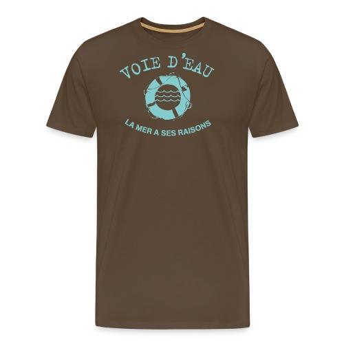 Voie d'eau - T-shirt Premium Homme