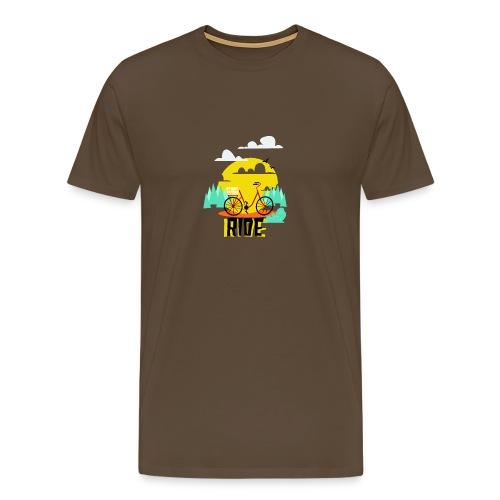 The Ride Tees - Men's Premium T-Shirt