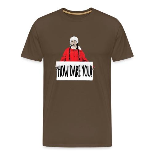 skolstrejk For klimatet - Premium-T-shirt herr