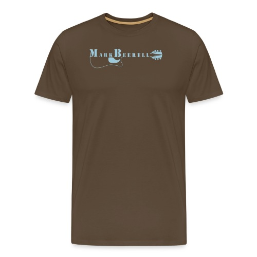 Mark Beerell Logo - Männer Premium T-Shirt