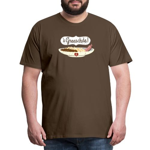 Linsen - Spätzle - Saiten - Männer Premium T-Shirt