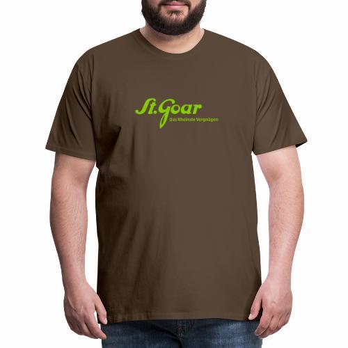 St. Goar – Das Rheinste Vergnügen - Männer Premium T-Shirt