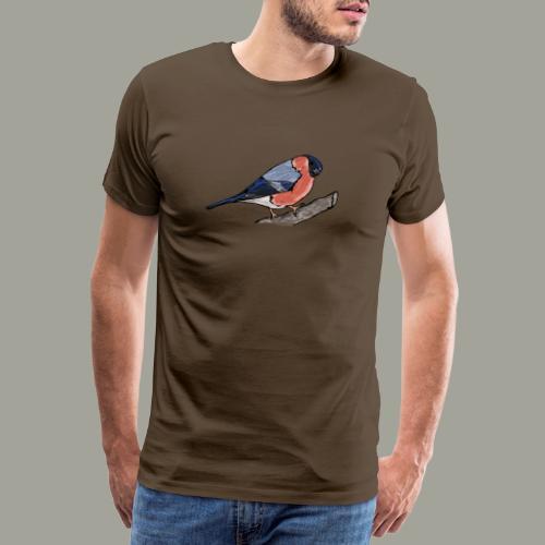 Dompfaff Vogel Vogelschutz Vogelfreunde - Koszulka męska Premium