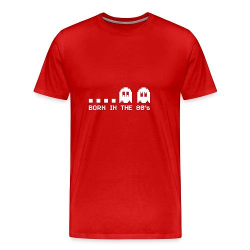 Born in the 80s - Ghosts - Men's Premium T-Shirt