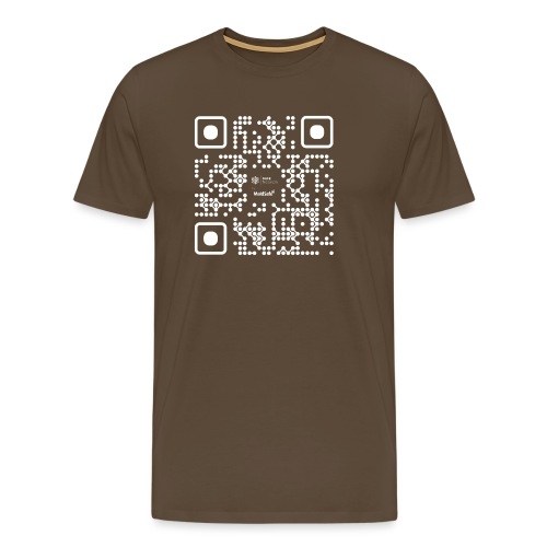 QR - Maidsafe.net White - Men's Premium T-Shirt