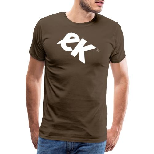 EK logo blanc # 1 - T-shirt Premium Homme