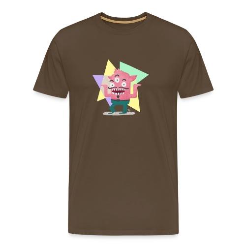 Dancing Monster - Männer Premium T-Shirt