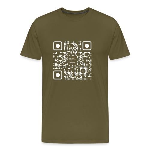 QR - Maidsafe.net White - Men's Premium T-Shirt