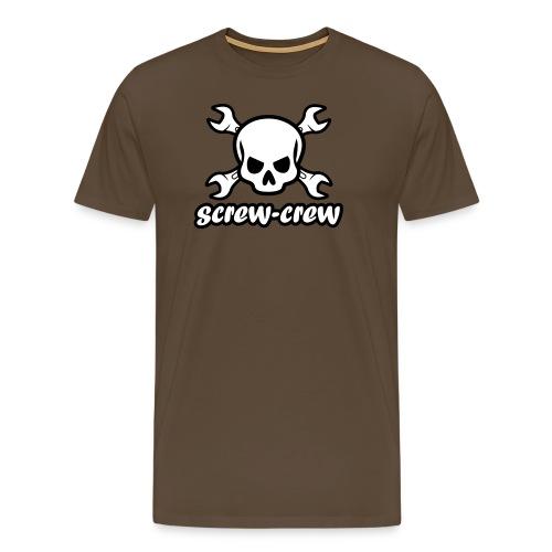 Logo_screw-crew_RZ_v.eps - Männer Premium T-Shirt