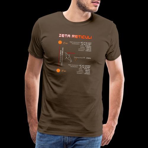 Zeta Reticuli - Männer Premium T-Shirt