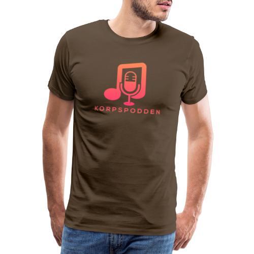 Korpspodden - Premium T-skjorte for menn