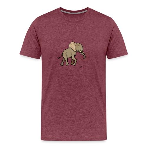 African elephant - Men's Premium T-Shirt