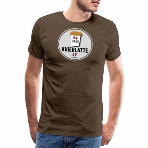 Kuierlatte - Mannen Premium T-shirt