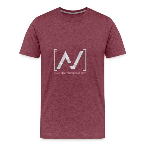 logoalpha blanc - T-shirt Premium Homme