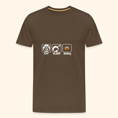 Birra - Maglietta Premium da uomo