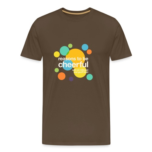 RTBC logo + names (dark background) - Men's Premium T-Shirt