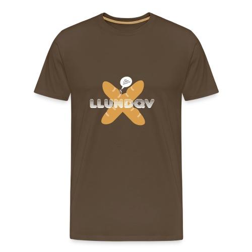 JEG ELSKER BAGUETTE! - Herre premium T-shirt