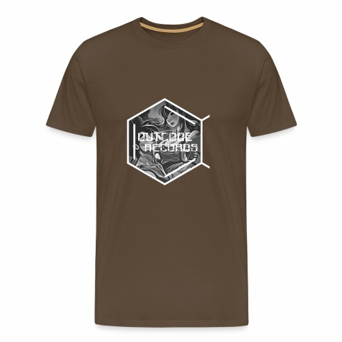 Outcode Records Art - Camiseta premium hombre