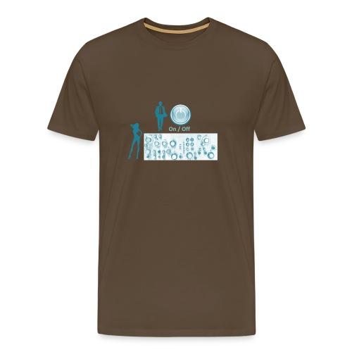 Man and Woman - Männer Premium T-Shirt