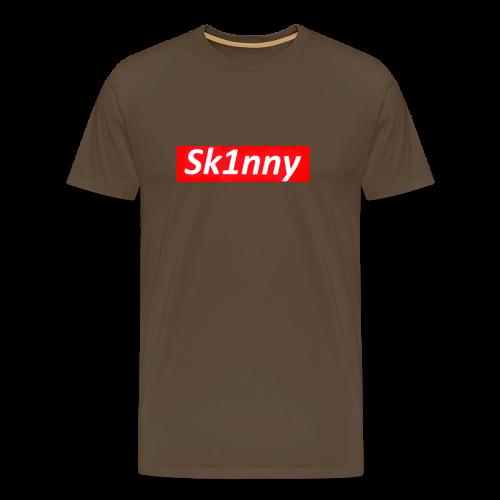 Sk1nny Logo - Men's Premium T-Shirt