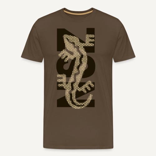 koszulka nsz jaszczurka b - Koszulka męska Premium