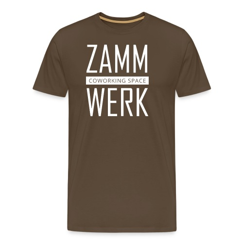 Zammwerk - Coworking Space - Männer Premium T-Shirt