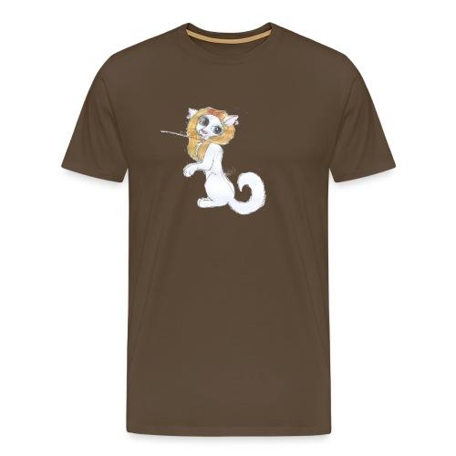 Comic Katze - Männer Premium T-Shirt