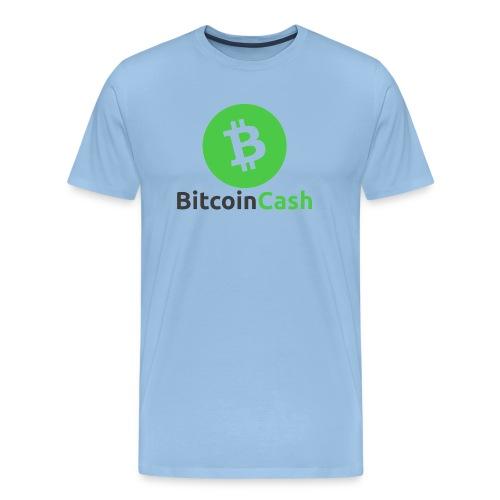 Bitcoin Cash 1 - Männer Premium T-Shirt
