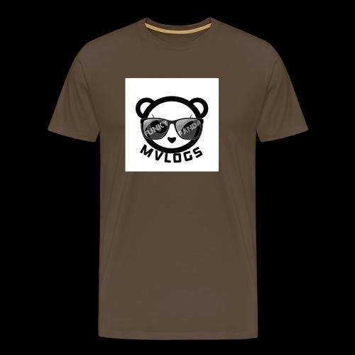 MVLOGS FUNKY PANDA - Men's Premium T-Shirt
