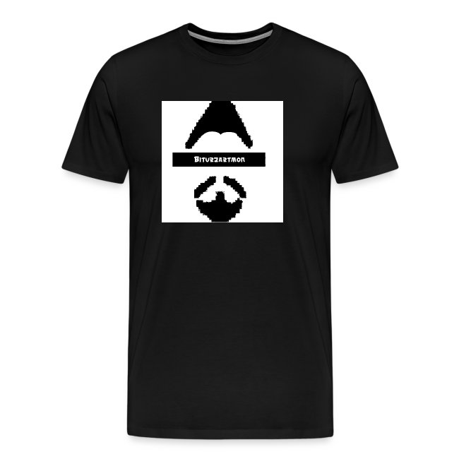 Biturzartmon Logo schwarz/weiss asiatisch