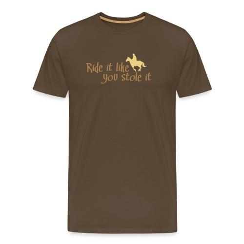 reiten - Männer Premium T-Shirt